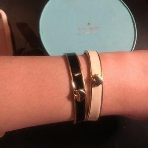 Kate Spade set of two bracelets